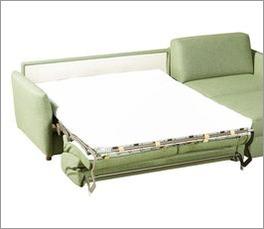 Schlafsofa Pastena mit integrierter Matratze