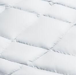 Kuschelige und angenehme SCHLAFSTIL Eiderdaunen-Bettdecke D1000 extra warm