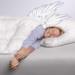 SCHLAFSTIL Eiderdaunen-Bettdecke D1000 in luxuriöser Markenqualität