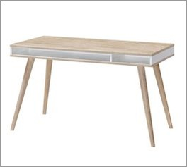 Schreibtisch Atina mit praktischem Ablagefach