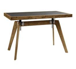 Schreibtisch Banvano höhenverstellbar im Industrie-Stil