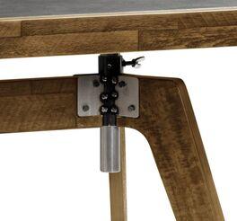 Trendiger Schreibtisch Banvano mit praktischer Höhenverstellung