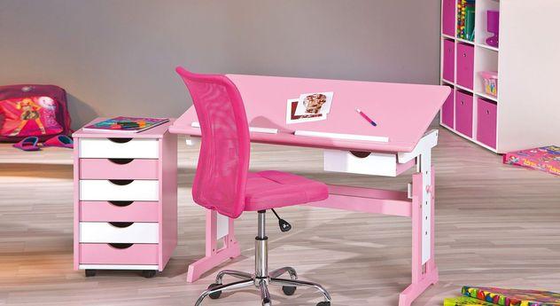 Schreibtisch Len schreibtisch rosa kinderschreibtisch für mädchen