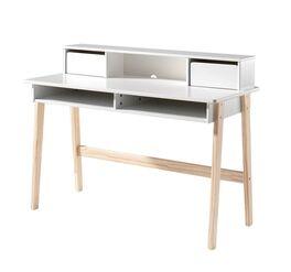 Schreibtisch Maila aus weißem MDF