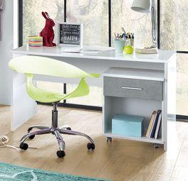 Schreibtisch Porvenir mit praktischer Ablagefläche
