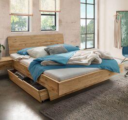 Schubkasten-Bett Adrien mit praktischem Stauraum