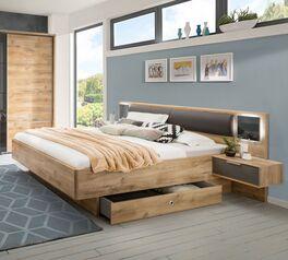 Schubkasten-Bett Alwara in Doppelbett-Größe