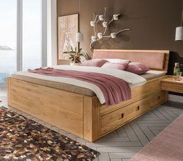 Schubkasten-Bett Aurach mit zusätzlichem Stauraum