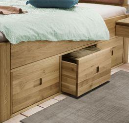 Schubkasten-Bett Blumau mit praktischen Griffmulden
