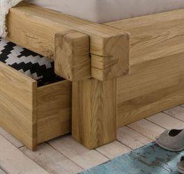 Schubkasten-Bett Doba mit Rahmen-Stecksystem