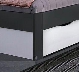 Schubkasten-Bett Zaida Fußbereich inklusive Schubkasten