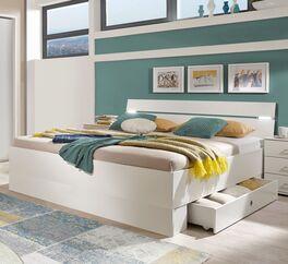 Bett Kiraly inklusive praktischen Schubkästen