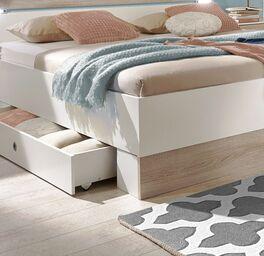 Schubkasten-Bett Kormoran im geradlinigem Design