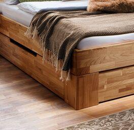 Schubkasten-Bett Pasja in geradlinigem Design