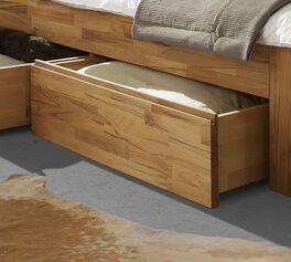 Schubkasten-Einzelbett Andalucia mit grifflosen Schubladen
