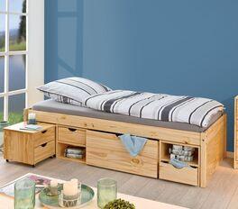Schubkasten-Einzelbett Oslo für Kinder- und Jugendzimmer