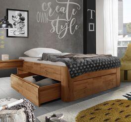 Schubkasten-Einzelliege Zarbo geeignet für Jugendzimmer
