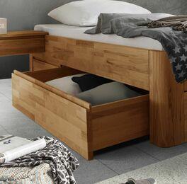 Schubkasten-Einzelliege Zarbo mit Stauraum unterm Bett