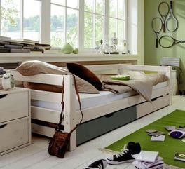 Schubkasten-Kinderbett Kids Paradise mit dreiseitiger Bettumrandung