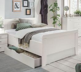 Preiswertes Schubkasten-Seniorenbett Calimera in klassischem-Stil