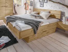 Schubkastenbett Kärnten mit geräumiger Design-Schublade