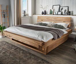 Schubkastenbett Romeno mit integriertem Stauraum