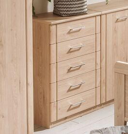 Schubladen-Kommode Herdorf als praktischer Stauraum fürs Schlafzimmer