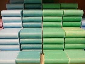 Seifen Bestandteil im Waschmittel Textilpflege