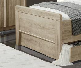 Senioren-Schubkastenbett Palmira mit dezentem Fußteil