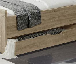 Senioren-Schubkastenbett Palmira mit Stauraum unter dem Bett