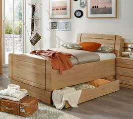 Seniorenbett Ageo mit großer Bettschublade
