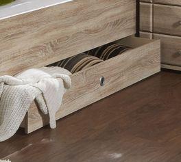Seniorenbett Carpina mit Schubkasten für zusätzlichen Stauraum