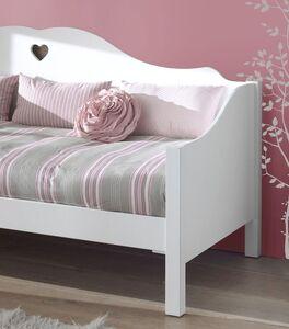 Sofabett Asami mit geschwungenen Seitenteilen
