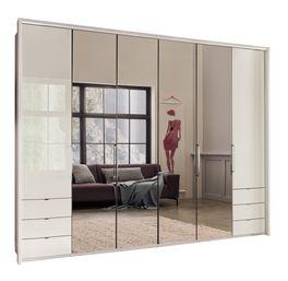 Spiegel-Funktions-Kleiderschrank Northville mit massiver Glasfront