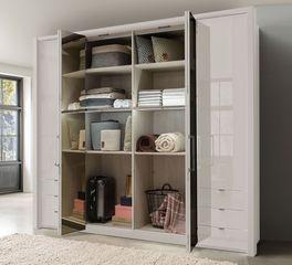 Spiegel-Funktions-Kleiderschrank Northville mit einfacher Innenausstattung