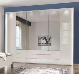 Spiegel-Kleiderschrank Elmira mit optionaler Beleuchtung
