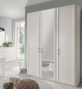 Spiegeltüren-Kleiderschrank Calimera mit ansprechenden Dekoroberflächen