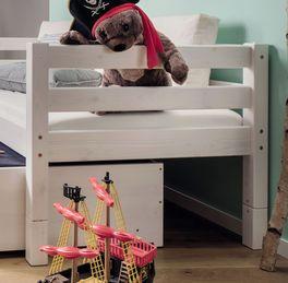 Stauraum-Ausziehbett Kids Paradise mit Herausfall-Schutz