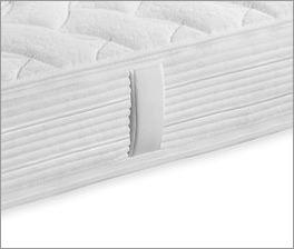 Taschenfederkern-Matratze Pan Luxus für Seitenschläfer geeignet
