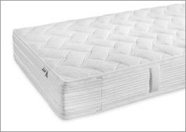 Taschenfederkern-Matratze Pan Luxus mit seitlicher Klimaborder