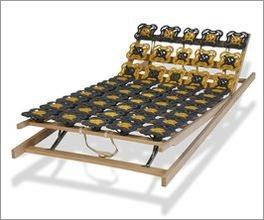 Individuell einstellbarer Tellerlattenrost modulflex