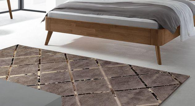hochwertiger teppich in elegantem design square. Black Bedroom Furniture Sets. Home Design Ideas