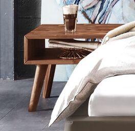 Trendiger Nachttisch Jacalto im Retro-Stil