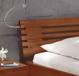 Wood Romance mit schönen Kopfteil-Quertraversen