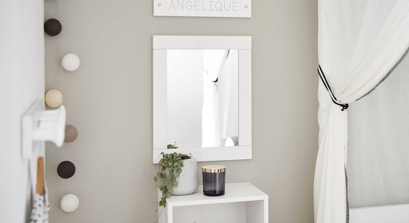 LIFETIME Wandspiegel Original aus Holz fürs Kinderzimmer