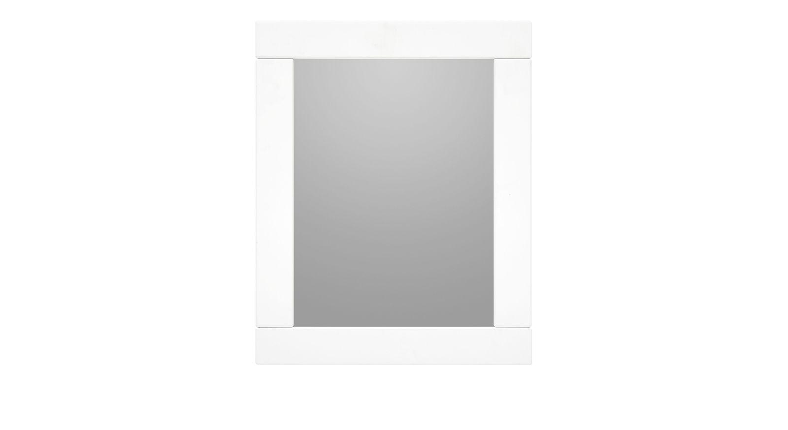 LIFETIME Wandspiegel Original weiß lackiert