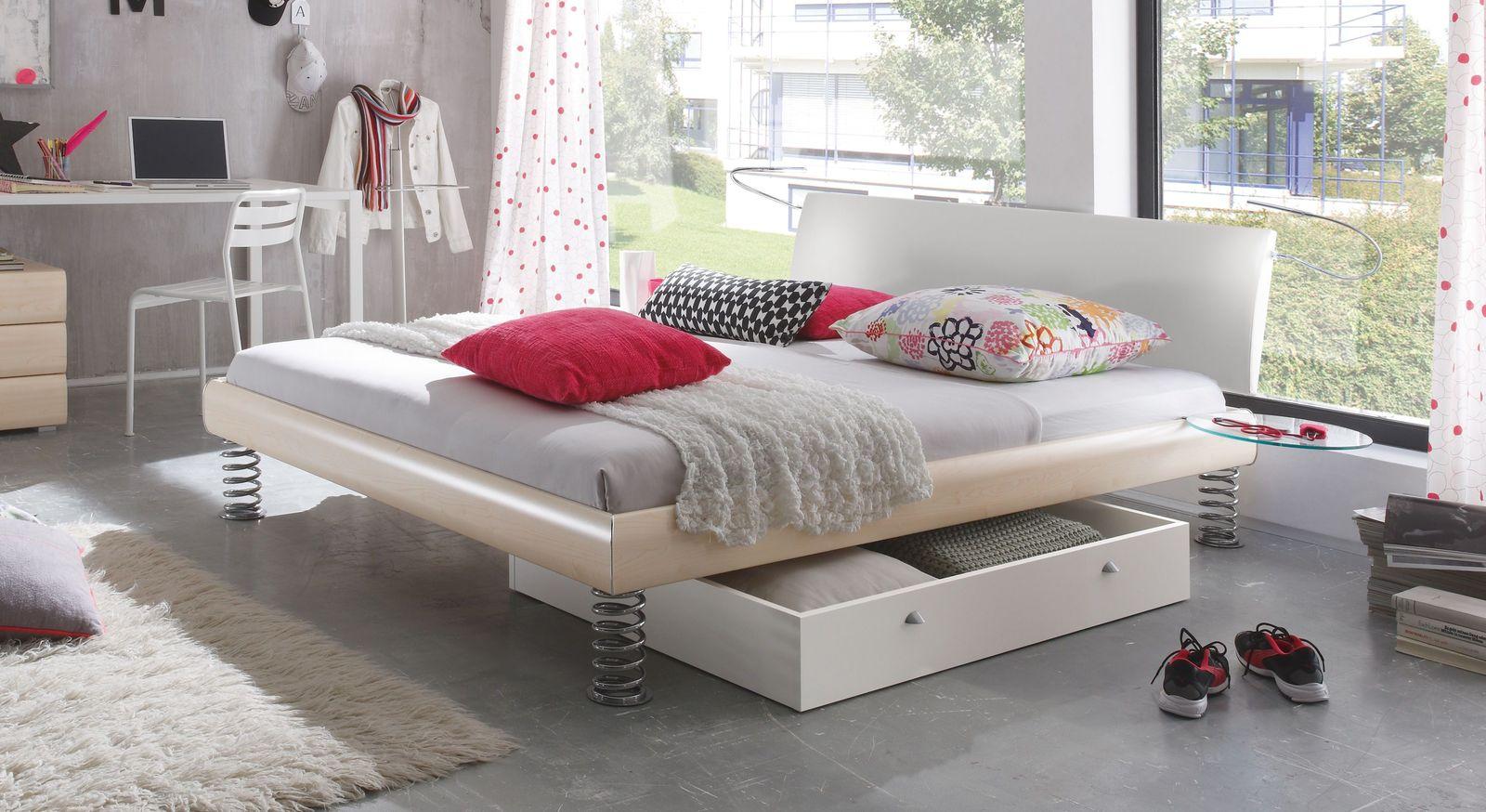 bett 100x200 wei preisvergleich die besten angebote. Black Bedroom Furniture Sets. Home Design Ideas