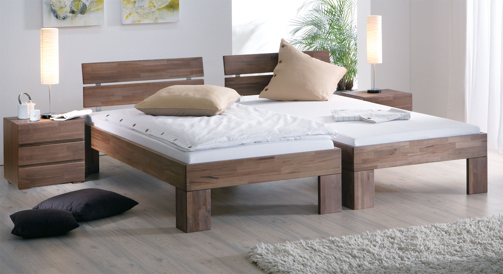 attraktive einzelbetten im gro en test und vergleich 2018. Black Bedroom Furniture Sets. Home Design Ideas