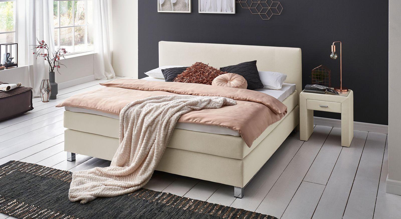 Dieses Bett Steht In Zwei Verschiedenen Höhen (Liegehöhen) In  Standardgrößen Von 100x200cm Bis 200x200cm Zur Verfügung (53cm / 66cm),  Drei Varianten Für Den ...