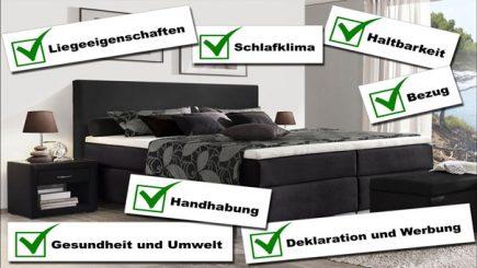 stiftung warentest lattenrost und matratze im test unser statement. Black Bedroom Furniture Sets. Home Design Ideas
